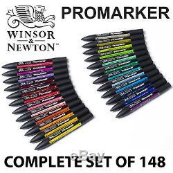 Winsor & Newton - Marqueurs Professionnels Promarker - Ensemble Complet De 148 Couleurs