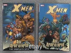 X-men Age De L'apocalypse Ensemble Complet De Pbt Épique Vol. 1-4 + Prélude & Nouveau Aoa