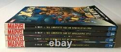 X-men Age De L'apocalypse Épique Complet Vol 1 2 3 4 Tpb/graphic Nouveau Lot Marvel